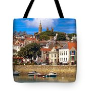 The Magic Of St. Peter Port In Guernsey Tote Bag