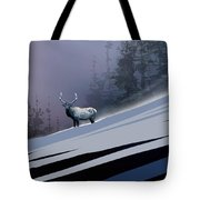 The Magnificent Elk Tote Bag by Paul Sachtleben