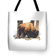 The Majestic Bison Tote Bag