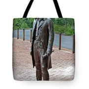 The Man Behind Monticello Tote Bag