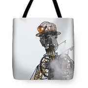 The Man Engine And His Man Tote Bag