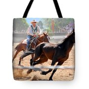 The Man From Snowy River Winner Tote Bag