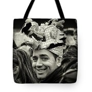 The Man In The Dragon Hat Tote Bag