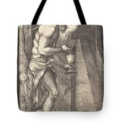 The Man Of Sorrows At The Foot Of The Cross Tote Bag