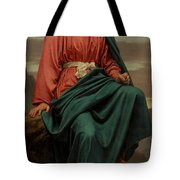 The Man Of Sorrows Tote Bag by Sir Joseph Noel Paton
