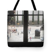 The Man Who Saw The World Tote Bag