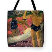 The Man With An Axe Tote Bag