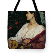 The Mandolin Player Tote Bag