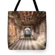 The Manor House With The Two Knights Hall Tote Bag