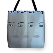 The Many Faces Of The World Tote Bag