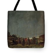 The Maple Sugar Camp Turning Off Tote Bag