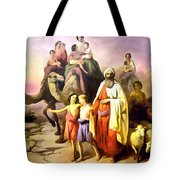 The March Of Abraham Tote Bag