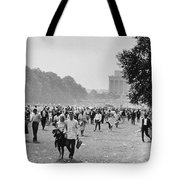 The March On Washington  Heading Home Tote Bag
