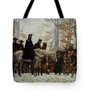 The March To Valley Forge, Dec 19, 1777 Tote Bag