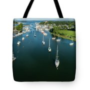 The Marina In Mamaroneck Tote Bag