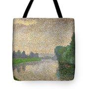 The Marne At Dawn Tote Bag