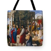 The Marriage At Cana Tote Bag by Julius Schnorr von Carolsfeld