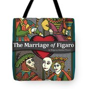 The Marriage Of Figaro Tote Bag