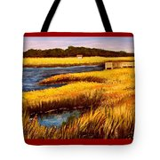 The Marsh At Cherry Grove Myrtle Beach South Carolina Tote Bag