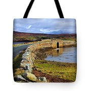 On Both Sides Of The Bridge Tote Bag