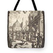 The Martyrdom Of Saint James Major Tote Bag