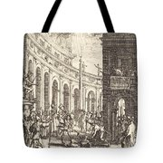 The Martyrdom Of Saint Thaddeus Tote Bag