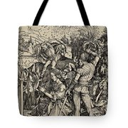 The Martyrdom Of St. Catherine Of Alexandria Tote Bag