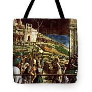 The Martyrdom Of St Jacques Tote Bag