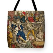 The Martyrdom Of St John Tote Bag