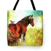The Marvelous Mare Tote Bag