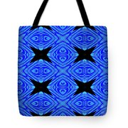The Mask Masquerading In Blue Tote Bag