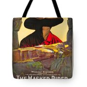 The Masked Rider 1919 Tote Bag
