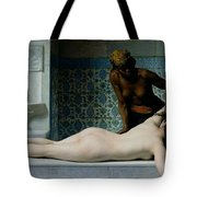 The Massage Tote Bag by Edouard Debat-Ponsan