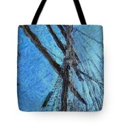The Mast And The Wind Tote Bag
