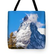 The Matterhorn Mountain Tote Bag