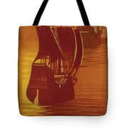 The Mayflower And The Speedwell Leave England In 1620 Tote Bag