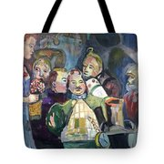 The Mayor Wizard Of Oz Tote Bag