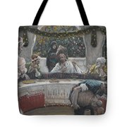The Meal In The House Of The Pharisee Tote Bag