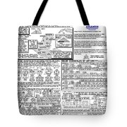 The Measurement Of Annual Time Tote Bag