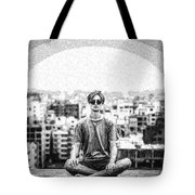 The Meditating Youth Tote Bag