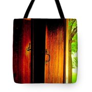 The Meeting House Door Tote Bag