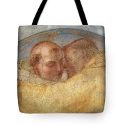 The Meeting Of St Francis And St Dominic  Tote Bag