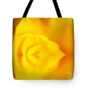 The Melting Rose Tote Bag