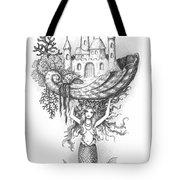 The Mermaid Fantasy Tote Bag