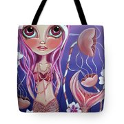 The Mermaid's Garden Tote Bag