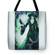 The Midnight Garden Witch Tote Bag