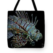 The Mighty Lion Fish Tote Bag