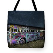 The Milky Way Bus Tote Bag