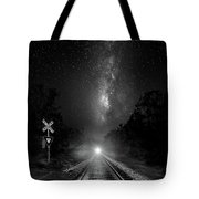 The Milky Way Express Tote Bag