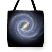 The Milky Way Galaxy Tote Bag by Stocktrek Images